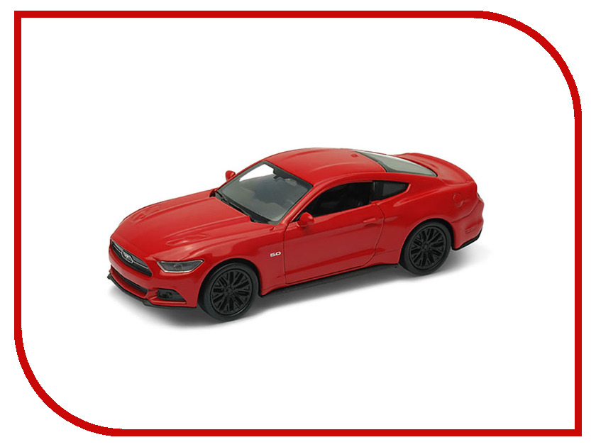 Игрушка Welly Ford Mustang GT 2015 43707 welly 1 24 ford mustang gt