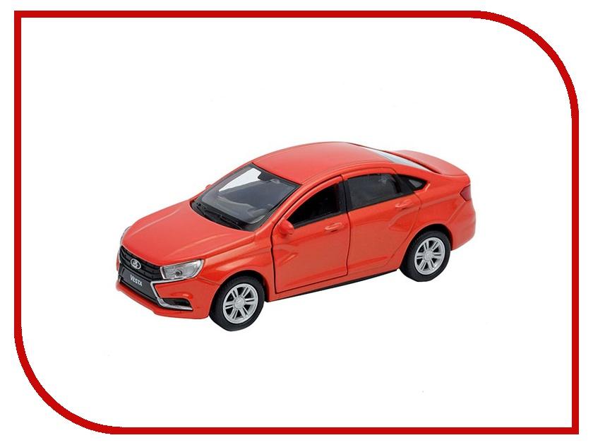Машина Welly LADA Vesta 43727 машина welly lada vesta такси 43727ti