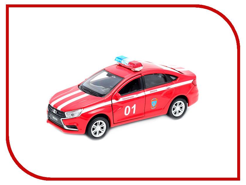 Игрушка Welly LADA Vesta Пожарная Охрана 43727FS машинки autotime машина lada 111 пожарная охрана