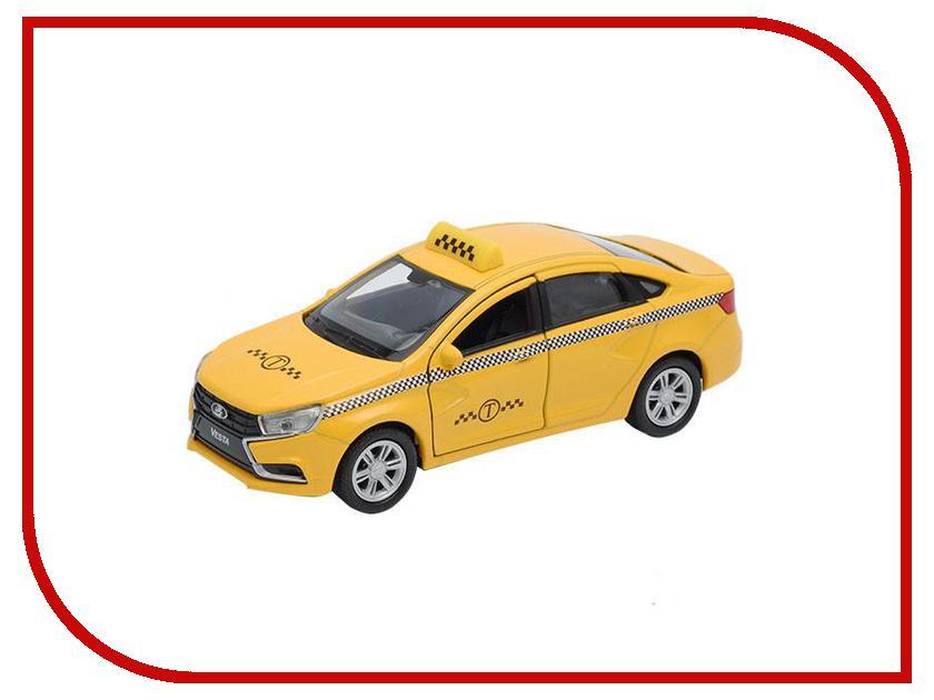 Машина Welly LADA Vesta Такси 43727TI машинки autotime машина lada 2104 такси