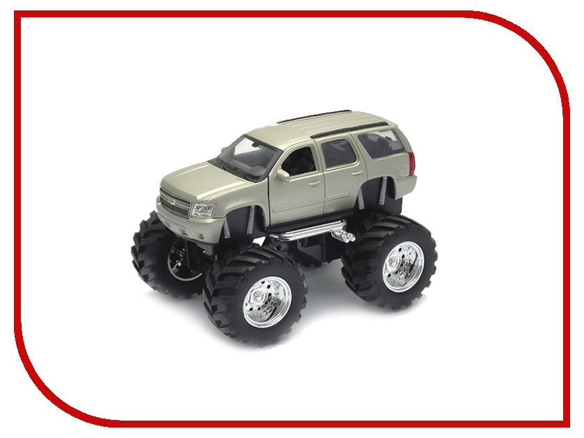 Машина Welly Chevrolet Tahoe Big Wheel 47002 игрушка welly модель машины 134 39 chevrolet tahoe big wheel 47002