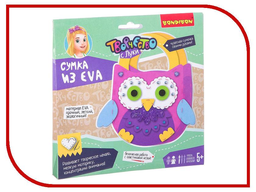 Набор для творчества Bondibon Сумочка из EVA. Сова ВВ2428 loz 140pcs m 9147 spongebob figure building block educational diy toy