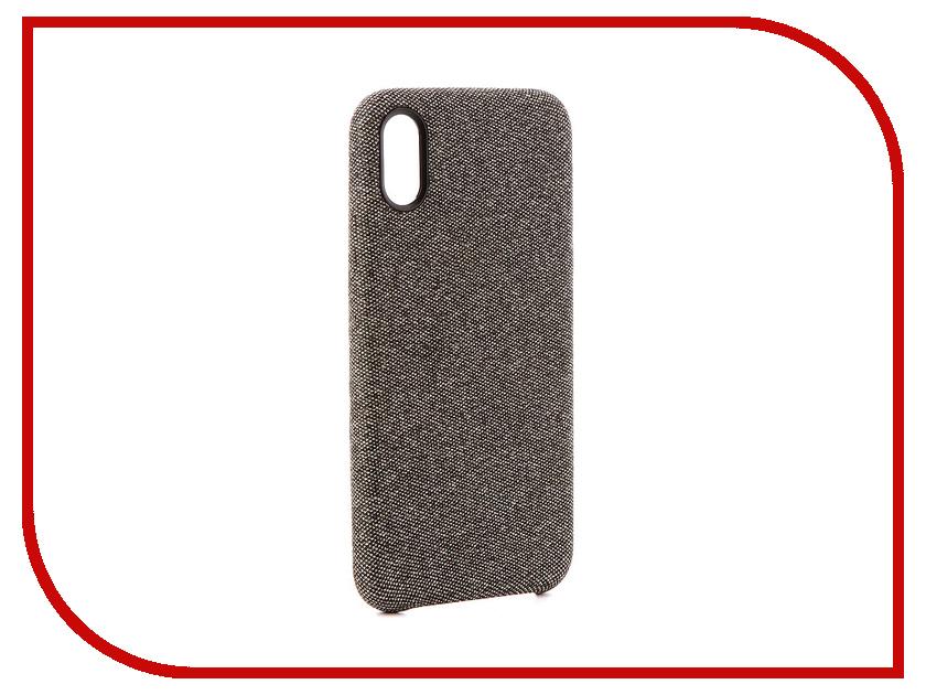 Аксессуар Чехол Innovation Jeans для APPLE iPhone X Grey 10789