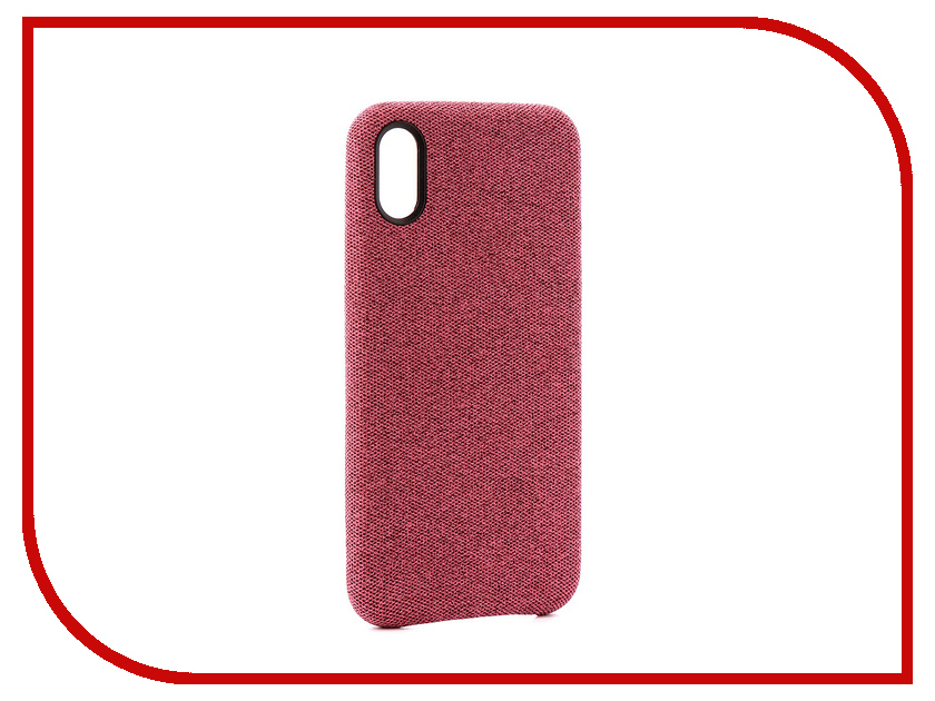 Аксессуар Чехол Innovation Jeans для APPLE iPhone X Pink 10805 mesh style protective back case for htc one x s720e deep pink