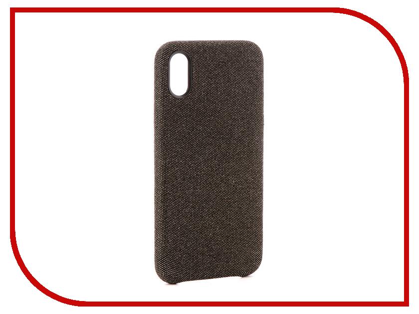 Аксессуар Чехол Innovation Jeans для APPLE iPhone X Graphite 10787