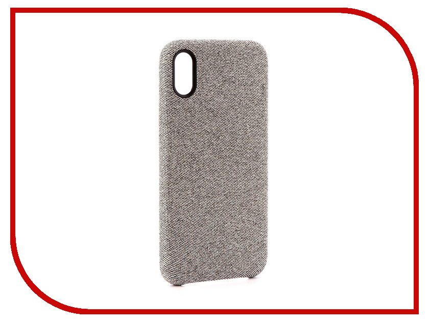 Аксессуар Чехол Innovation Jeans для APPLE iPhone X White 10786