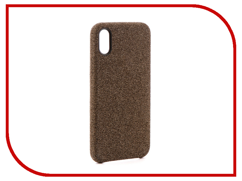 Аксессуар Чехол Innovation Jeans для APPLE iPhone X Beige 10785
