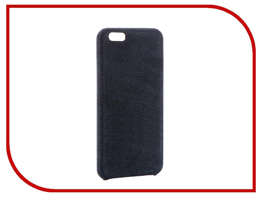 Аксессуар Чехол Innovation Jeans Blue для APPLE iPhone 6 Plus 10816 аксессуар чехол elari для elari cardphone и iphone 6 plus blue