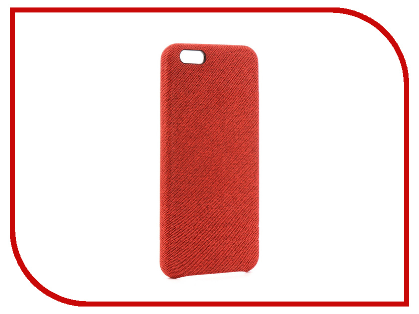 Аксессуар Чехол Innovation Jeans для APPLE iPhone 6 Plus Red 10814 аксессуар чехол innovation jeans для apple iphone 7 plus 8 plus red 10782