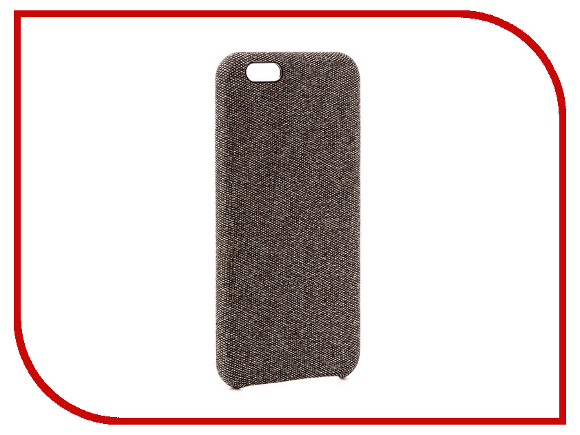 Аксессуар Чехол Innovation Jeans для APPLE iPhone 6G / 6S Grey 10771 аксессуар чехол innovation jeans для apple iphone 7 8 grey 10777