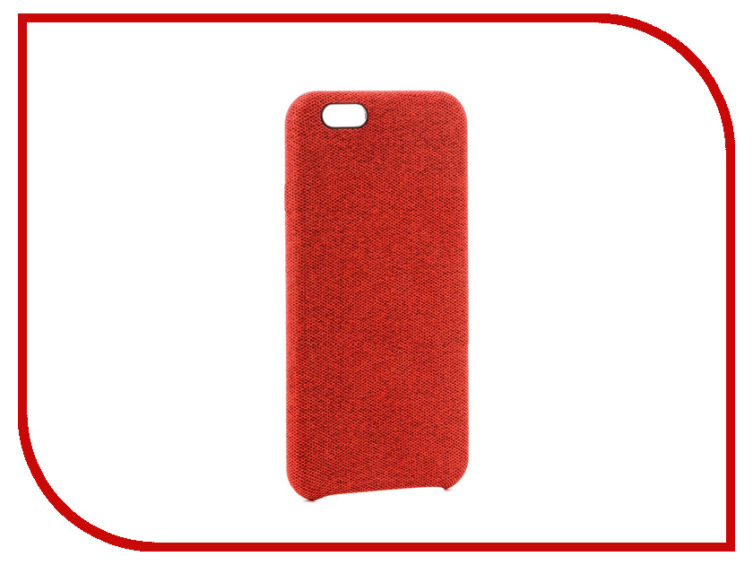 Аксессуар Чехол Innovation Jeans для APPLE iPhone 6G / 6S Red 10770 чехол для iphone 6 глянцевый printio сад на улице корто сад на монмартре ренуар