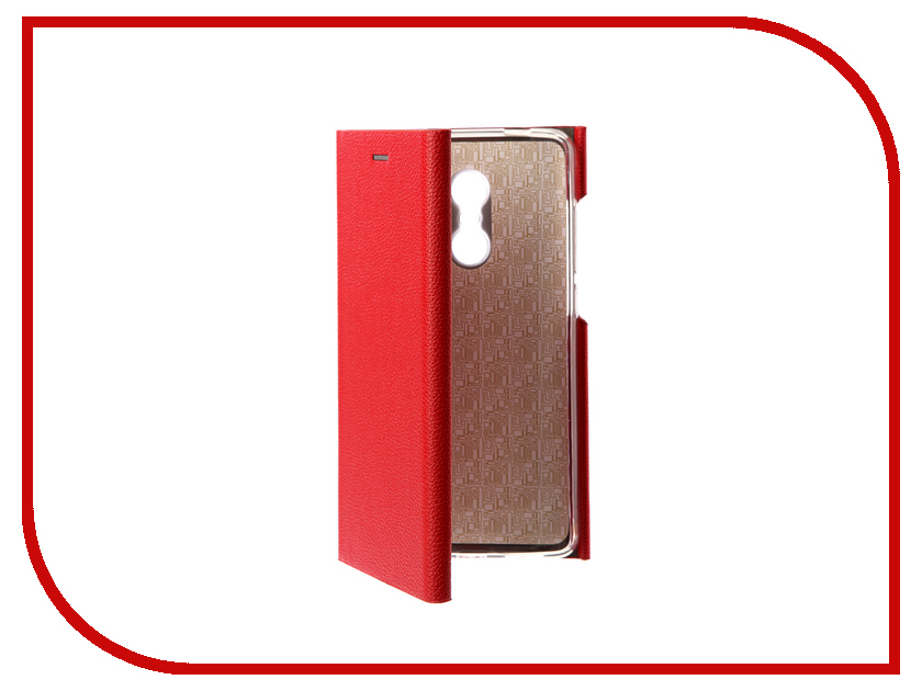 Аксессуар Чехол Xiaomi Redmi Note 4X Innovation Ракушка Silicone Red 11102 naxtop 1pc screen film for xiaomi redmi note 4x 4gb 64gb high version