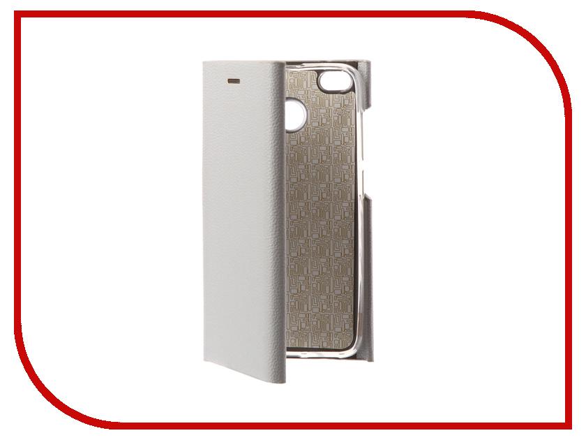 Аксессуар Чехол Xiaomi Redmi 4X Innovation Ракушка Silicone Silver 11097 аксессуар чехол xiaomi redmi 4 onext silicone transparent 70500