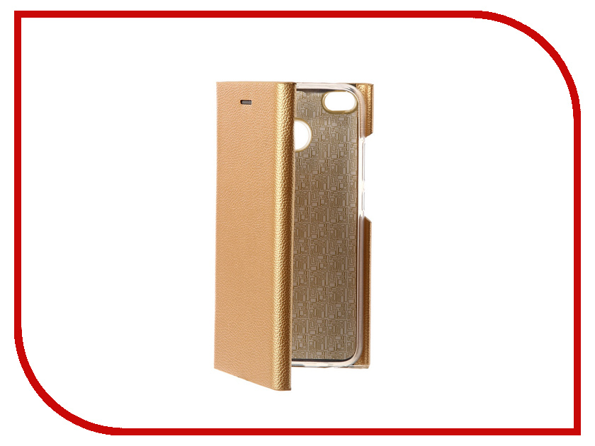 Аксессуар Чехол Xiaomi Redmi 4X Innovation Ракушка Silicone Gold 11095 аксессуар чехол xiaomi redmi 4 onext silicone transparent 70500