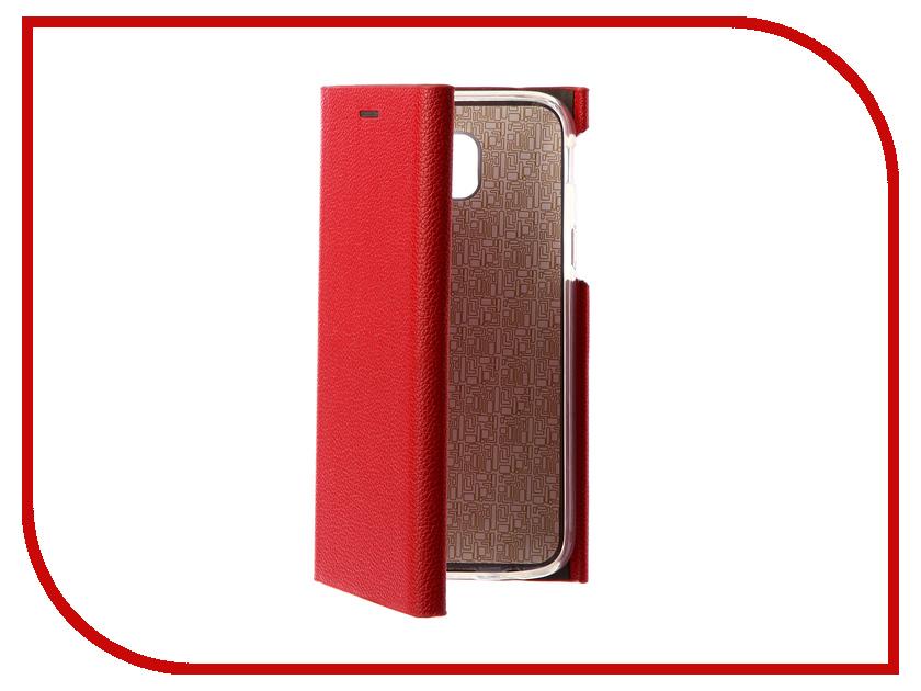 Аксессуар Чехол Samsung Galaxy J5 2017 J530F Innovation Ракушка Silicone Red 11078 innovation management