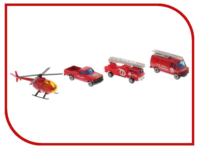 Машина Welly Служба спасения Пожарная команда 98630-4C служба спасения sluban