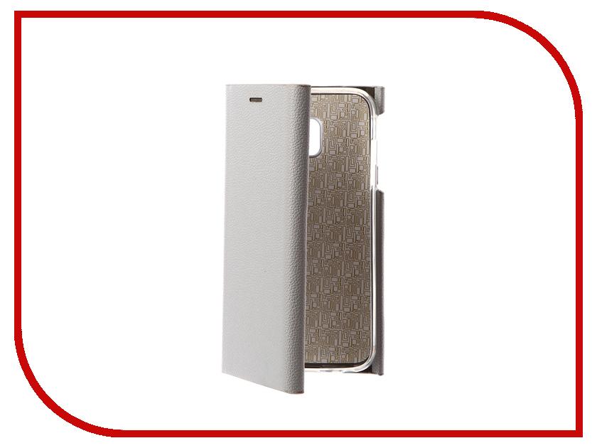 Аксессуар Чехол для Samsung Galaxy J3 2017 J330F Innovation Ракушка Silicone Silver 11073 аксессуар чехол samsung j3 2017 j330f zibelino clear view black zcv sam j330 blk