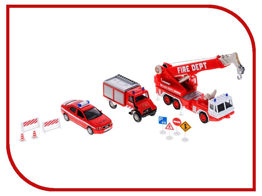 Игрушка Welly Пожарная служба 99610-10B welly 335