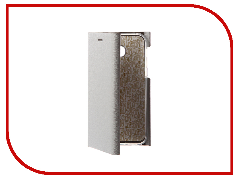 Аксессуар Чехол Samsung Galaxy A5 2017 Innovation Ракушка Silicone Silver 11067 mooncase classical multi colored leather wallet flip card slot bracket back чехол для samsung galaxy a8 white01