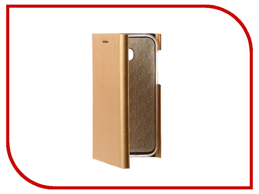 Аксессуар Чехол для Samsung Galaxy A5 2017 Innovation Ракушка Silicone Gold 11065