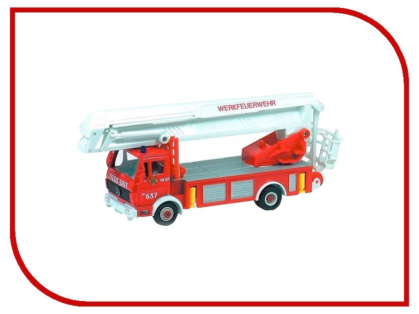 Машина Welly Пожарная машина 99623 пожарная машина welly 99623 1 60 красный