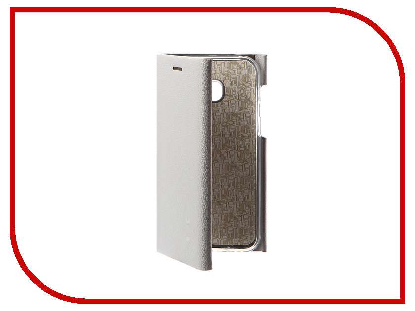 Аксессуар Чехол Samsung Galaxy A3 2017 Innovation Ракушка Silicone Silver 11061 аксессуар чехол samsung galaxy a3 2017 cojess tpu 0 3mm transparent