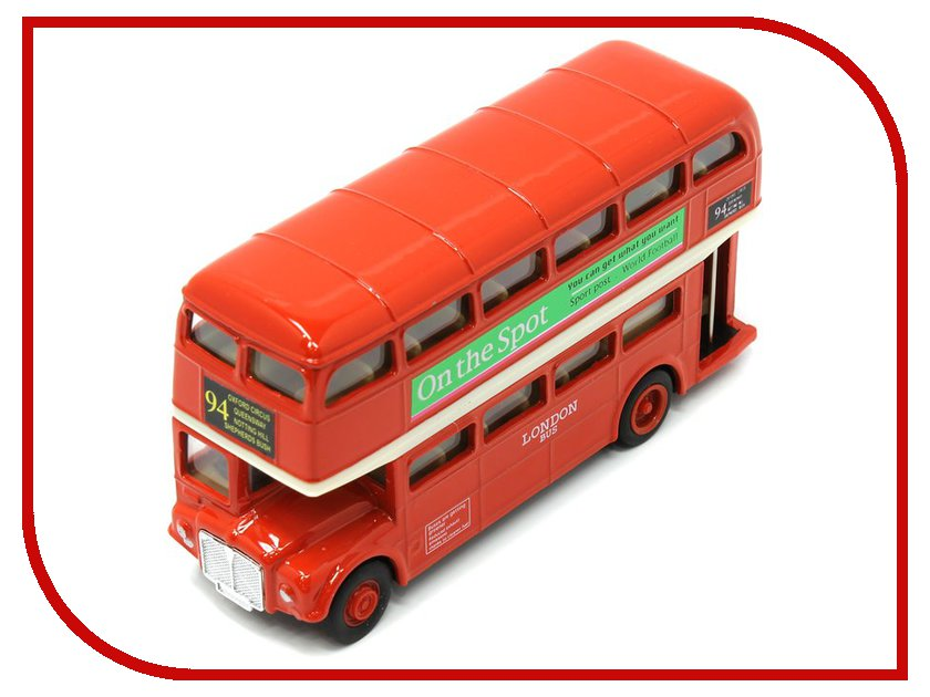 Игрушка Welly London Bus 99930 welly london bus 99930