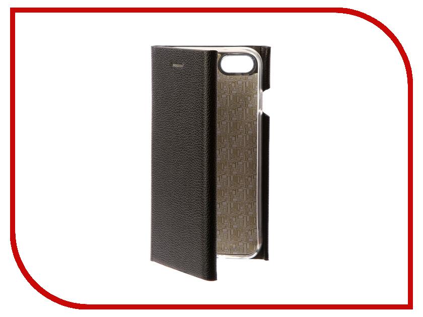 Фото Аксессуар Чехол Innovation Ракушка Silicone для APPLE iPhone 7 Black 11045