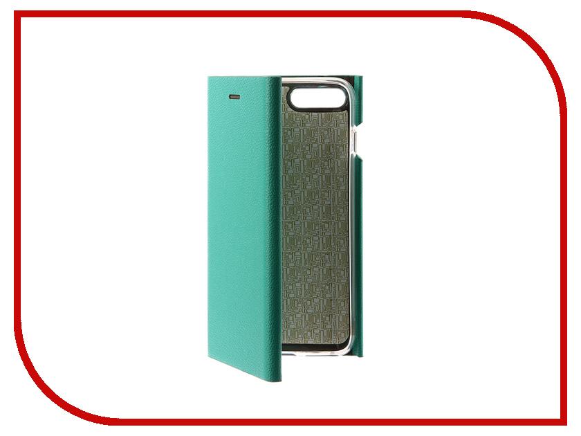 Фото Аксессуар Чехол Innovation Ракушка Silicone для APPLE iPhone 7 Plus Green 11046