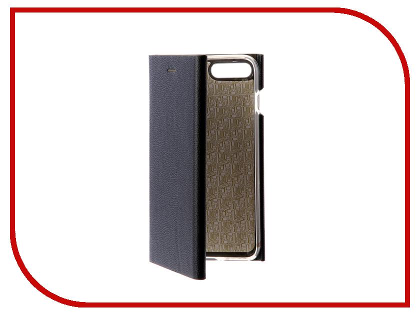 Аксессуар Чехол Innovation Ракушка Silicone для APPLE iPhone 7 Plus Blue 11050 аксессуар чехол uag plasma cobalt для apple iphone 7 blue iph7 6s l cb