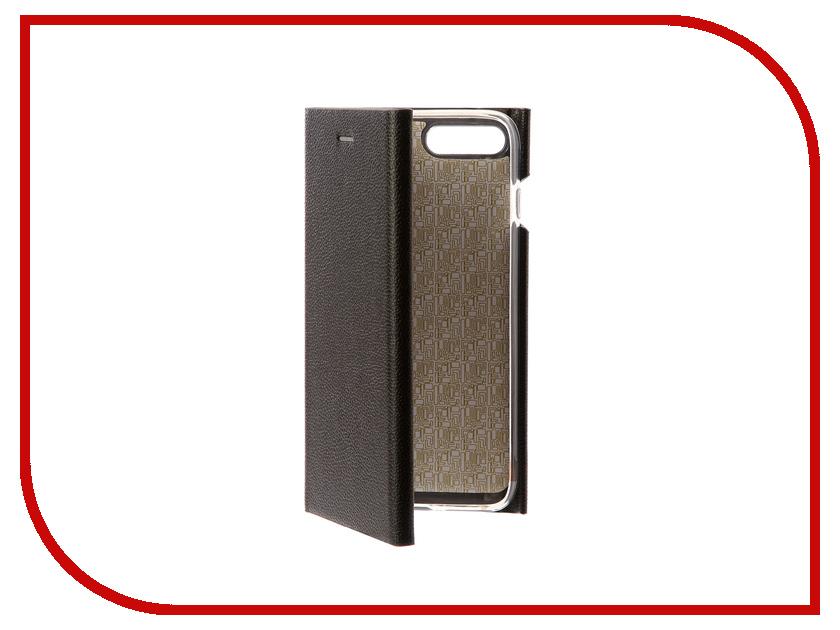 Аксессуар Чехол Innovation Ракушка Silicone для APPLE iPhone 7 Plus Black 11051 смартфон apple iphone 7 plus 32gb black mnqm2ru a
