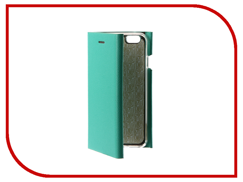 Аксессуар Чехол Innovation Ракушка Silicone для APPLE iPhone 6 / 6S Green 11034 аксессуар чехол uag plasma cobalt для apple iphone 7 blue iph7 6s l cb