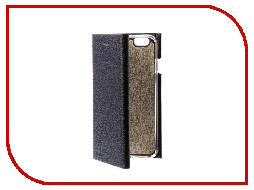 Аксессуар Чехол Innovation Ракушка Silicone для APPLE iPhone 6 / 6S Blue 11038 аксессуар чехол uag plasma cobalt для apple iphone 7 blue iph7 6s l cb