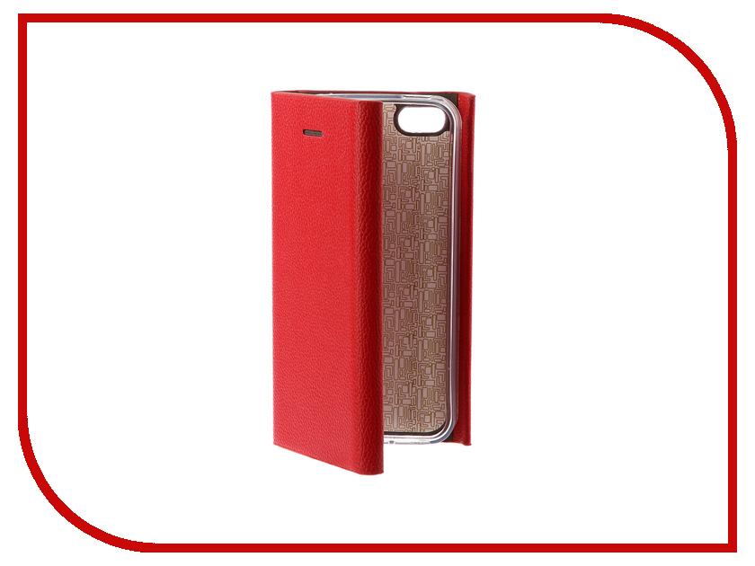 Аксессуар Чехол Innovation Ракушка Silicone для APPLE iPhone 5G / 5S / 5SE Red 11030 чехлы для телефонов 1azaliya чехол для iphone 5 5s 5se