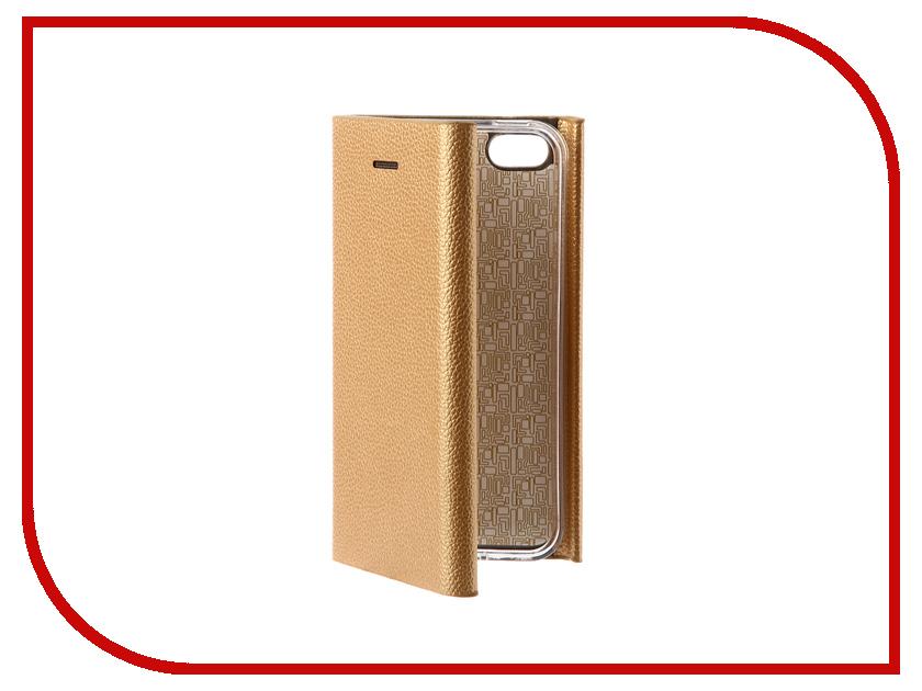 Аксессуар Чехол Innovation Ракушка Silicone для APPLE iPhone 5G / 5S / 5SE Gold 11029 iphone 5s gold б у 15 000