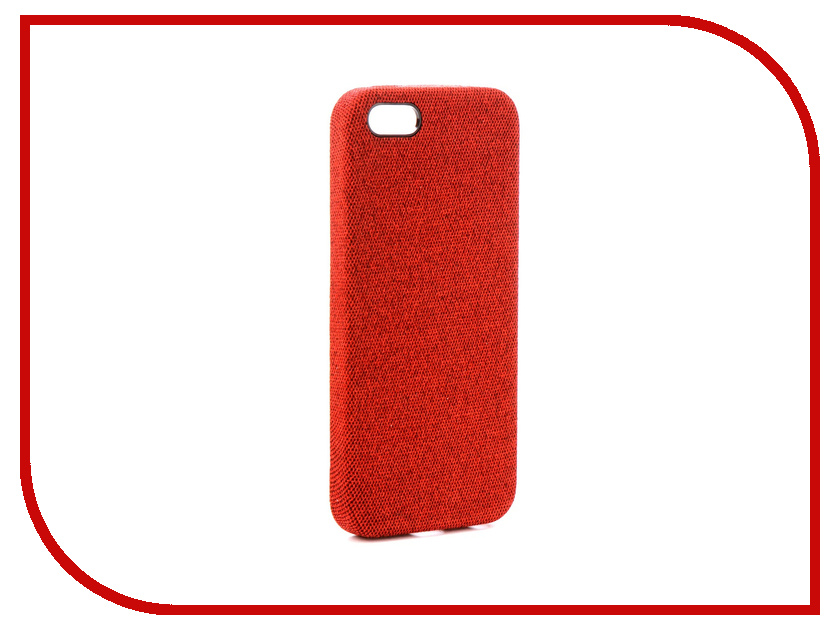 Аксессуар Чехол Innovation Jeans Red для APPLE iPhone 5G / 5S / 5SE 10764 apple iphone 5 в китае