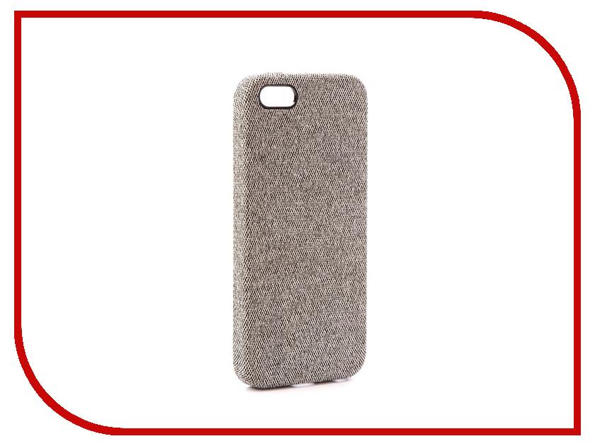 Аксессуар Чехол Innovation Jeans для APPLE iPhone 5G / 5S / 5SE White 10762 innovation management