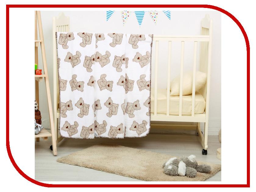 Покрывало Baby Nice Мишки 75x100cm 3044747 baby nice бортик мишки бязь baby nice розовый