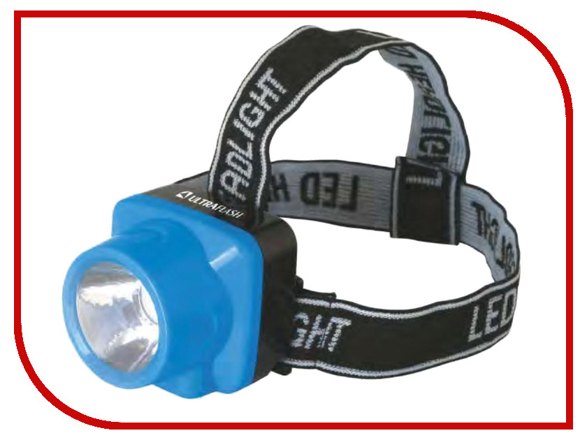 Купить Фонарь UltraFlash LED5374 Light Blue 12427