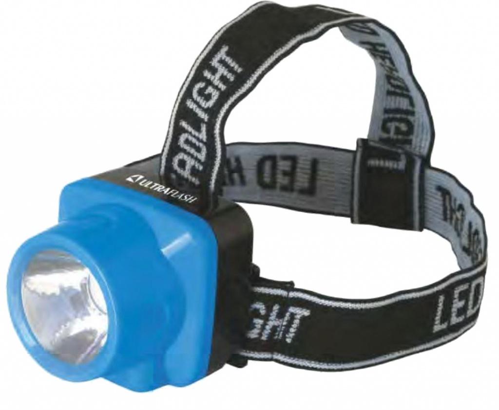 Фонарь UltraFlash LED5374 Light Blue 12427 цена