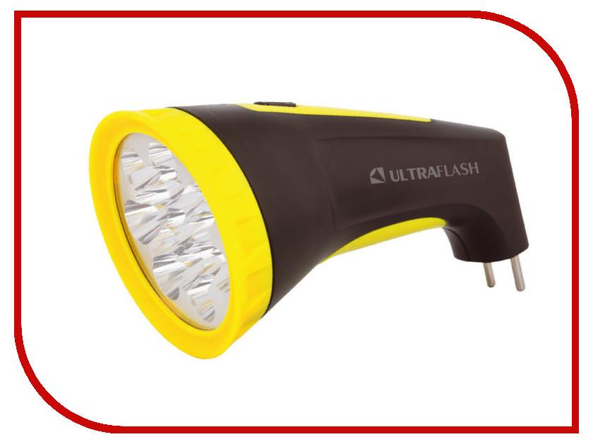 Фонарь UltraFlash LED3815M Black-Yellow 12869