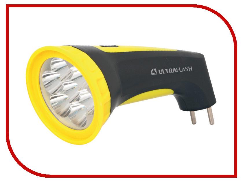 Фонарь UltraFlash LED3807M Black-Yellow 12868