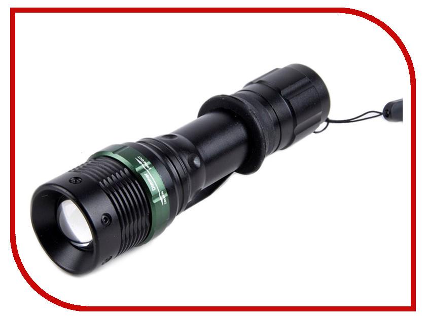 Фонарь UltraFlash E142 Black 12187 настольная лампа ultraflash uf 301p c07 yellow 12899