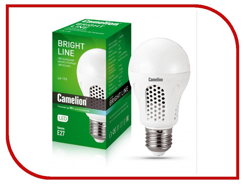 Лампочка Camelion LA-115 E27 220V 13151 camelion la 103 30 led аккумуляторный светильник