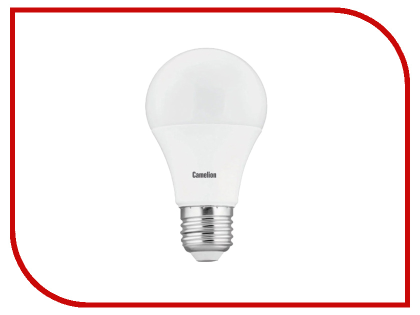 Лампочка Camelion A60 9W 220V E27 3000K LED9-A60-FL/830/E27 лампочка asd led a60 standard 11w 3000k 160 260v e27 4690612001739
