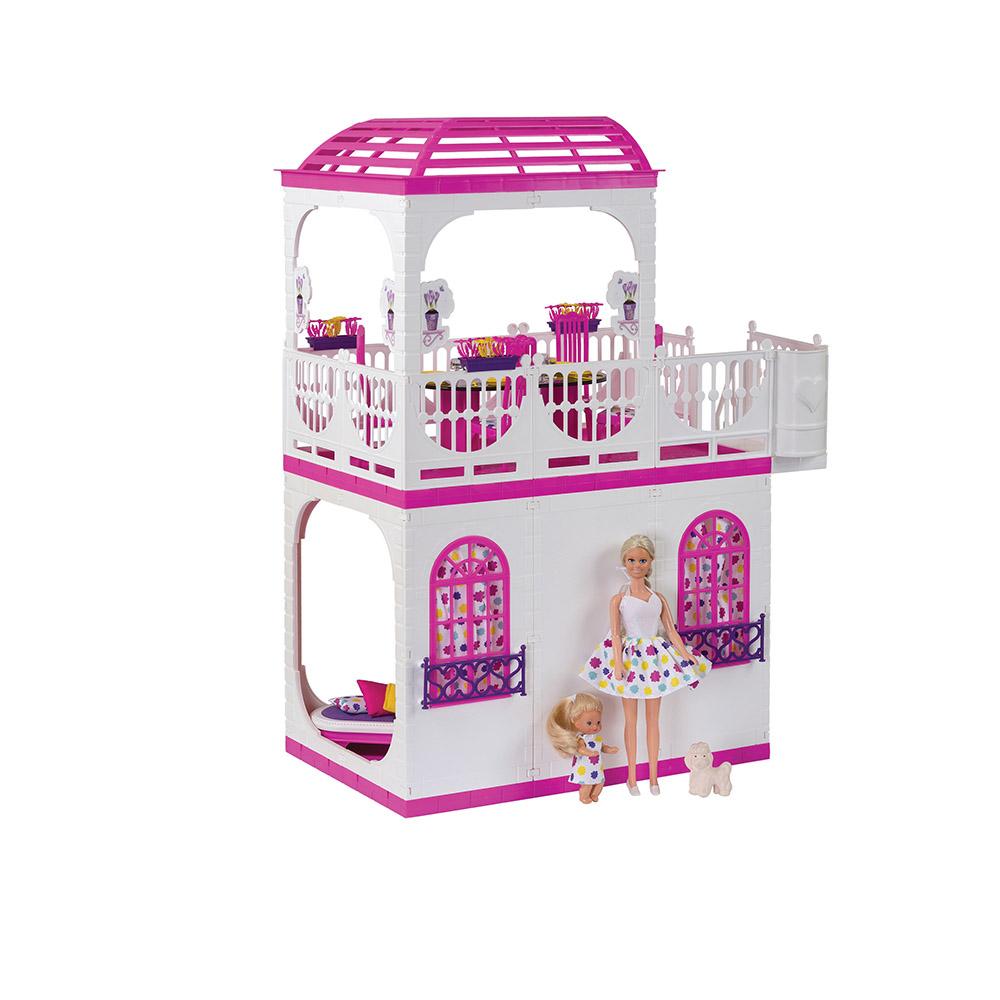 Кукольный домик Огонек Зефир С-1405