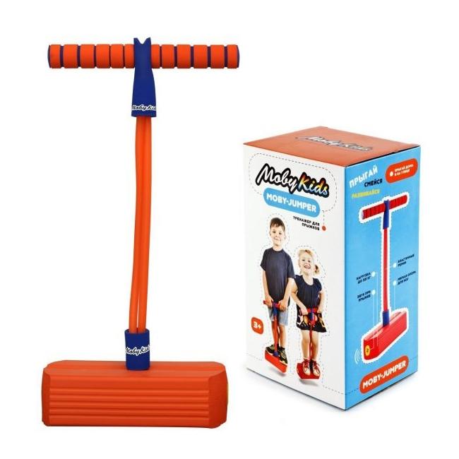 Тренажер для прыжков Moby Kids Moby-Jumper Orange 68552