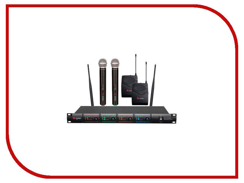 Радиосистема Eco by Volta US-4X (716.90/629.40/614.15/524.00) радиосистема eco by volta u 1h 505 75