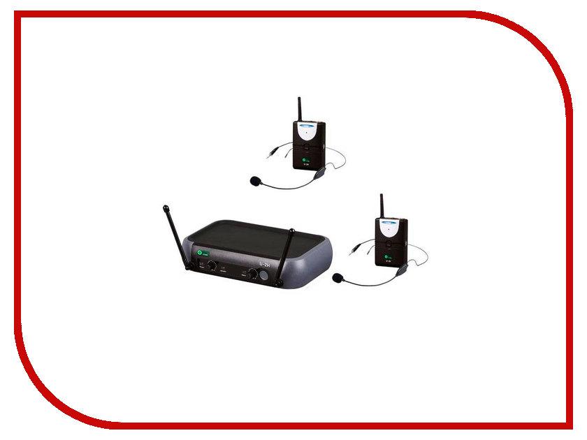 Радиосистема Eco by Volta U-2H (520.10/725.8) радиосистемы eco by volta u 2 505 75 622 665