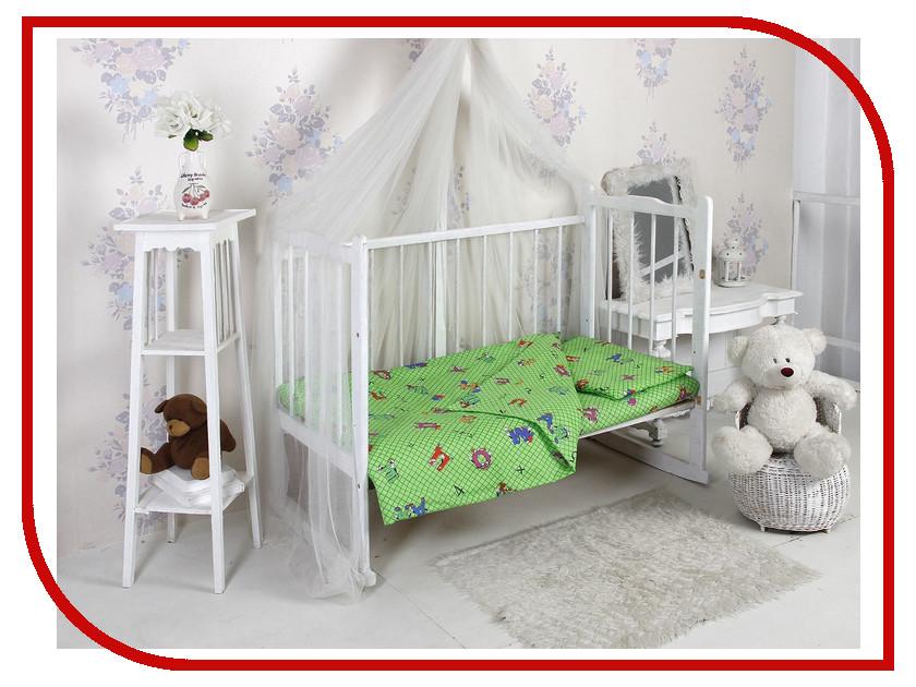 Фото Комплект Алмакс Kids Азбука 1256-2 112x147/110x150/40x60 Бязь 2276774